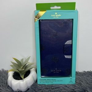 💙Kate Spade💙Wrap Folio IPhone 7 Plus Case
